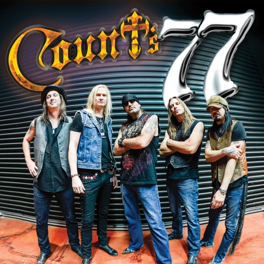 Count's 77 is the first release from the band of the same name, released in April of 2014. The album is produced by Mike Varney.