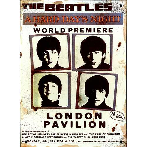 World Premiere- 6, July, 1964 in London