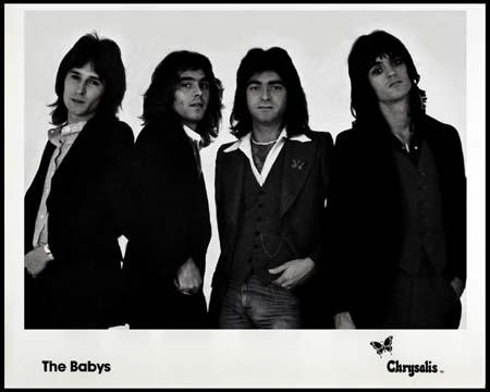 The Babys circa 1979/1980- Promo from the band's old label Chrysalis when John Waite was their lead vocalist