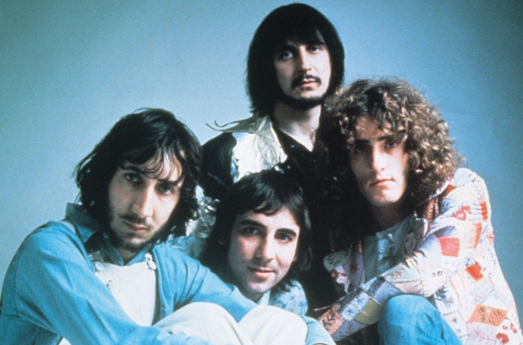 Classic MCA Records Promo Shot: The WHO in the mid 70's: Pete Townsend, Keith Moon, Roger Daltrey and John Entwhistle
