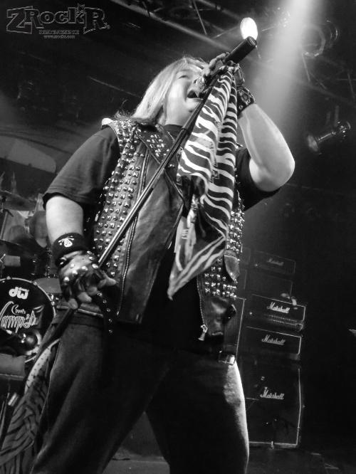 Cyanide vocalist Robert Hussey.