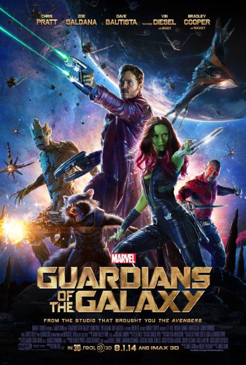 Based on the Marvel Comics characters- Guardians of the Galaxy hit theaters on Friday August 1 Nationwide