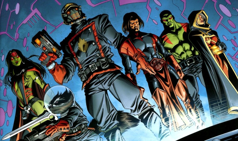 Marvel's Guardians of the Galaxy from a June 2012 Comic Book