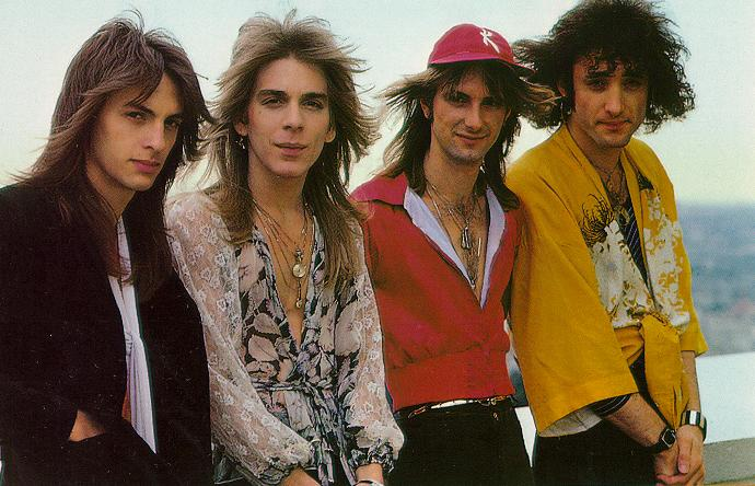 The Original Quiet Riot - from L to R: Drew Forsyth, Randy Rhoads, Kelly Garni and Kevin DuBrow