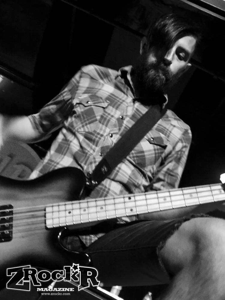 Chiodos' bassist Matt Goddard.