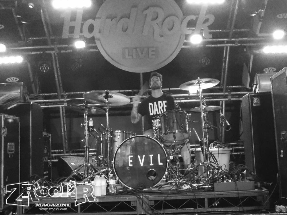 Chiodos' drummer Derrik Frost