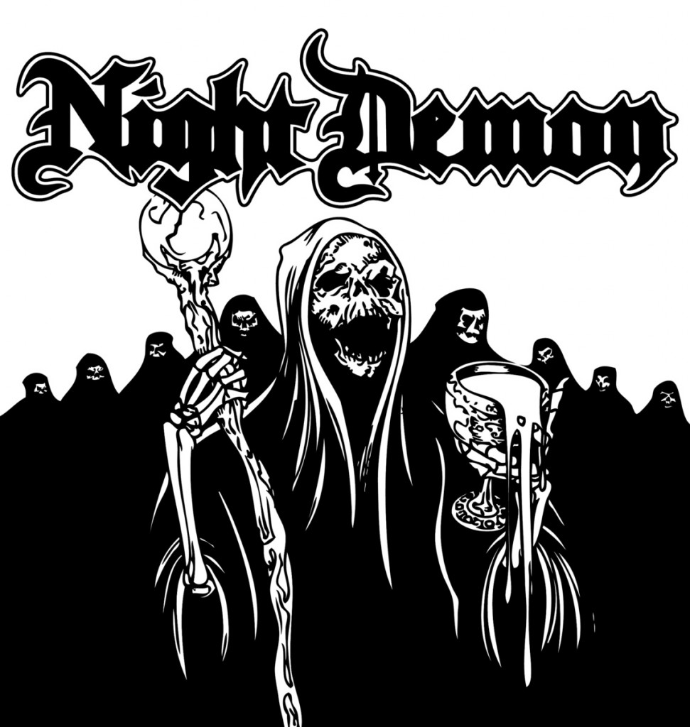 The Night Demon EP is the first release from Night Demon and has been re-issued as the original run has sold out!