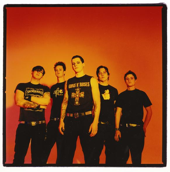 Once upon a time... A 2003 Publicity shot of the band-