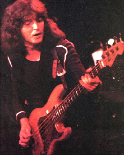 Bob Daisley on stage