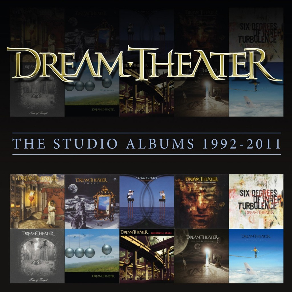 Dream Theater- The Studio Albums Box Set was released in mid 2014