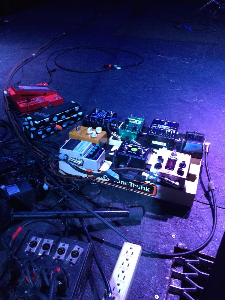 A look at some of Greg's gear for the stage