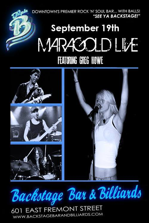 Maragold - Backstage Bar & Billards - Las Vegas, NV - September 19, 2014