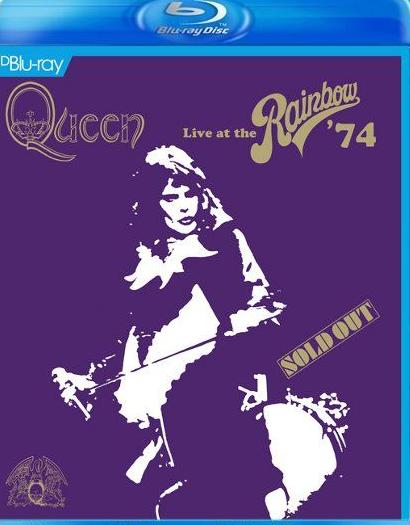 Queen- Live At The Rainbow '74 was released on blu-ray dvd on 8, September, 2014