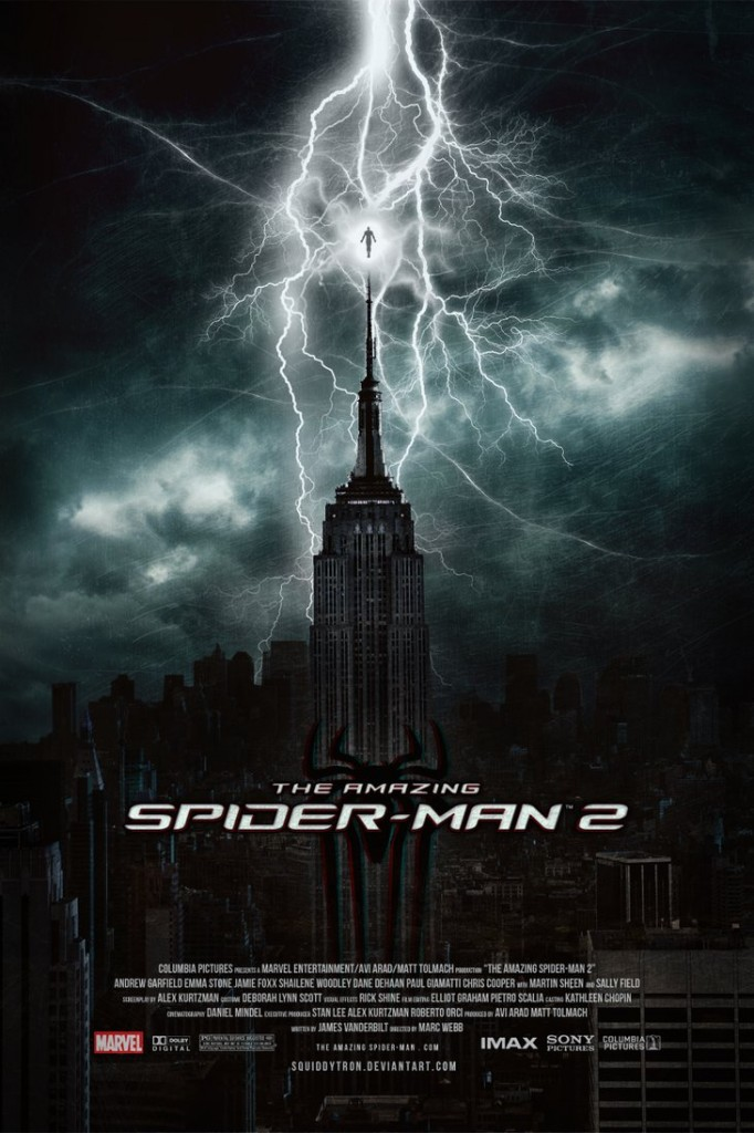 Spiderman2 poster art by squiddytron.deviantart.com