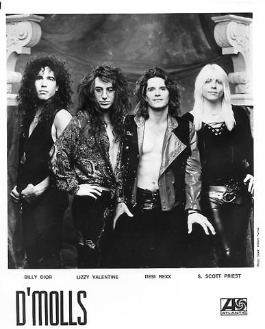D'Molls press kit shot from when they were on Atlantic. SS is also the guitarist for Diamond Rexx and was with Diamond Rexx first.