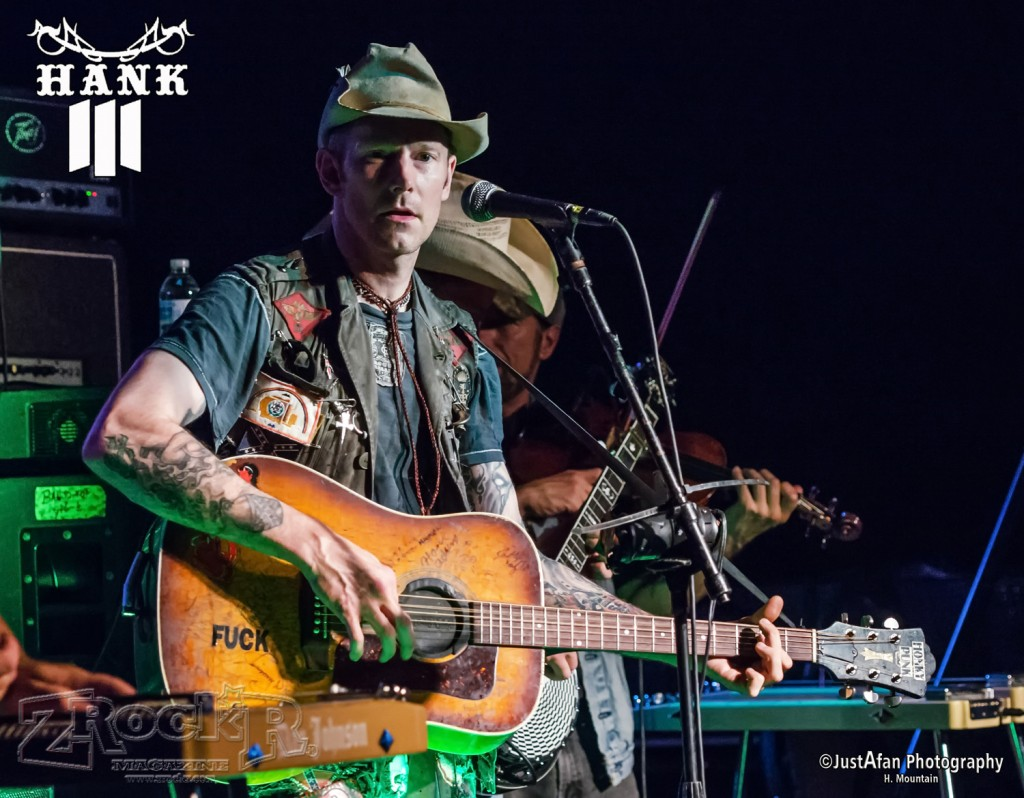 "Hank William III or as he is known ""Hank3"" was at LVCS on 9/26/2014"