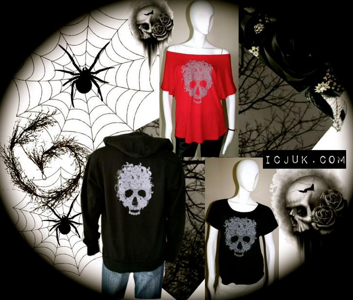 A special Skulls and Roses Item is in the Trick or Treat Grand Prize Bag and Courtesy of ICJUK.com!