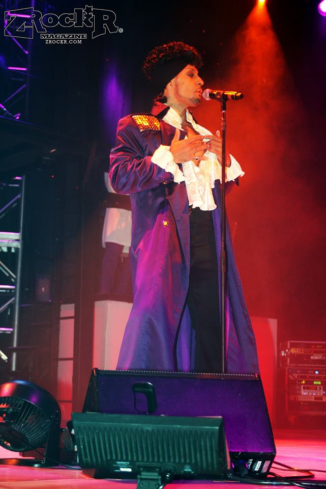 """Prince""  Live on Stage in Purple Reign"