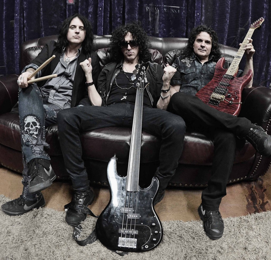 Red Zone Rider- Ace Frehley drummer Scot Coogan, along with Kelly Keeling of Trans Siberian Orchestra and Vinnie Moore of UFO' s band- we think may not be a matter of wishing and really hope to see them at Vamp'd (eventually)!