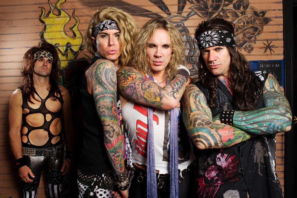 Steel Panther would be great for a raucous night of just the right amount of impropriety and general 80's style debauchery!