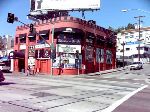 Hair Metal Mecca- Doesn't matter who is playing or what color they have it painted now, The Whisky A Go Go on the Sunset Strip in Hollywood is a photo op stop for all who love Hair Metal- Such bands as Motley Crue, Ratt, Stryper, Dokken, Poison, and many many more have graced it's stage at one time or another.