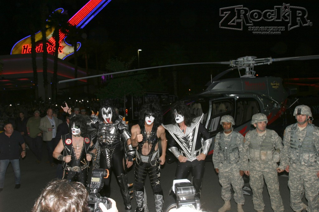 Even members of the US Military are KISS Army members!