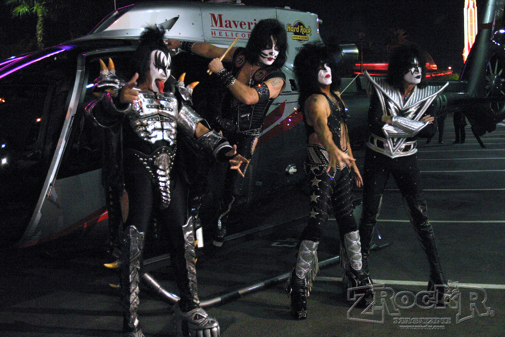 You Wanted The Best and You Got It Las Vegas!  The Hottest Band In The World!  KISS!