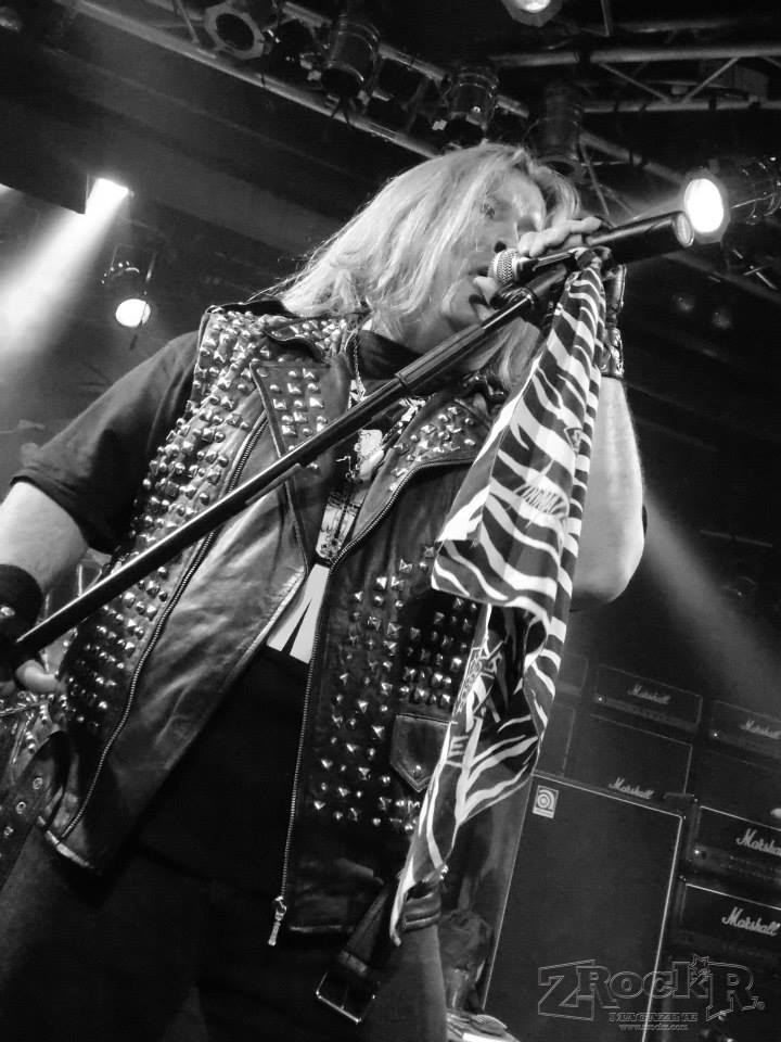 Cyanide vocalist Rob Hussey, opening for legends Bulletboys at Vamp'd.