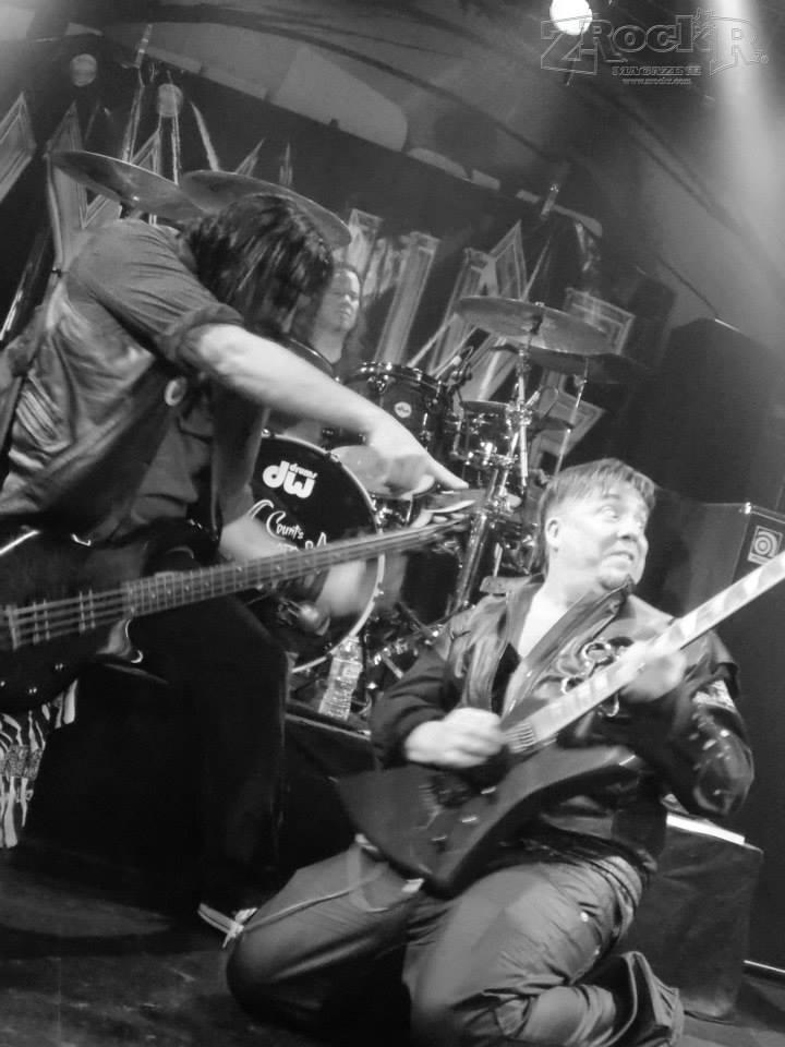 Cyanide bassist David Karr and guitarist