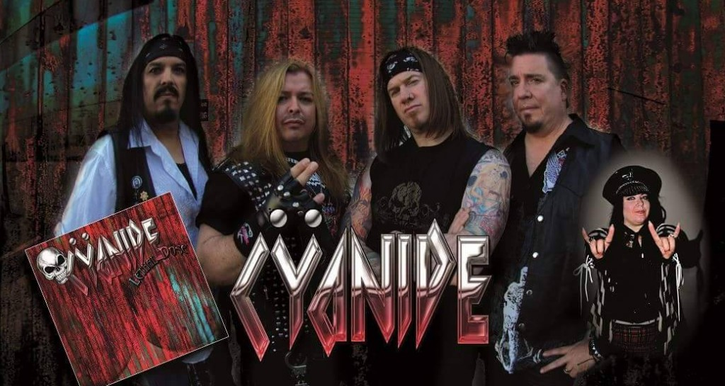 Cyanide kicked off the show with an hour-long set, mixing covers and originals.