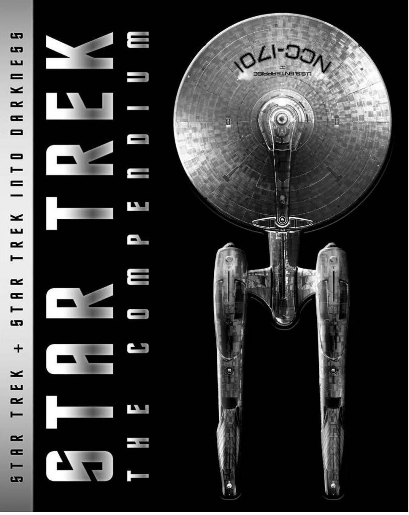 Star Trek: The Compendium was released on Blu-ray Disc on September 9, 2014. The Compendium is a packaging of the 2009 Star Trek film, and the IMAX version of its sequel, 2013's Into Darkness.