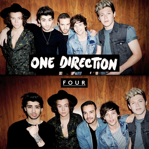 "1D's album "" Four""  was released on 14, November, 2014 on the Columbia/Syco label."