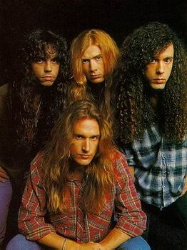 One of the many incarnations of MEGADETH