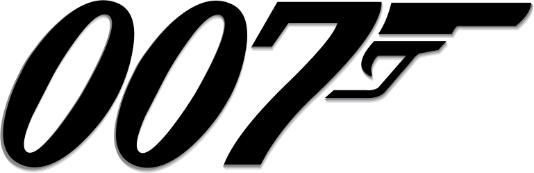 The James Bond 007 logo.