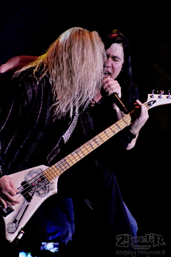 Dana Strum and Mark Slaughter.