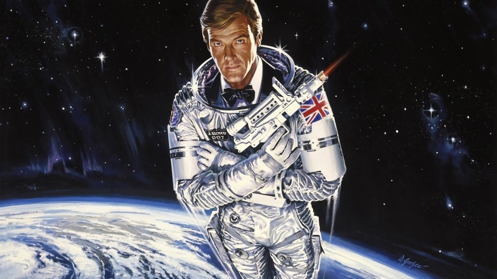 James Bond in space? Yes, that actually happened....