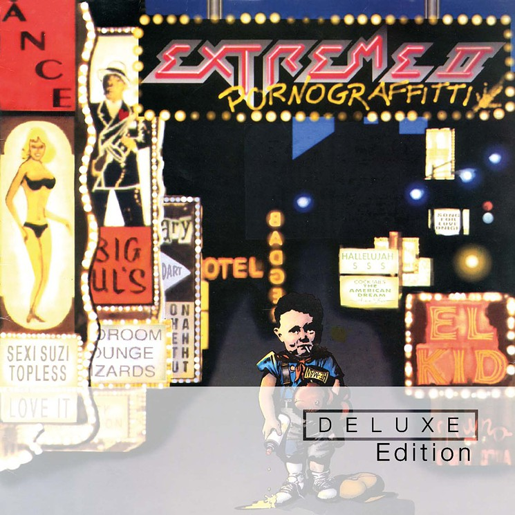 Extreme II: Pornograffitti was originally released in 1990. The Deluxe Edition was released in January of 2015.