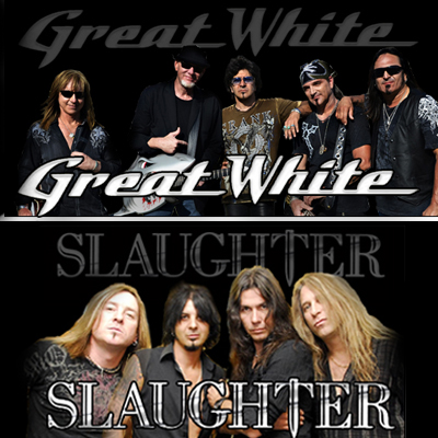Slaughter and Great White played the Eastside Cannery on Saturday, February 7, 2015.