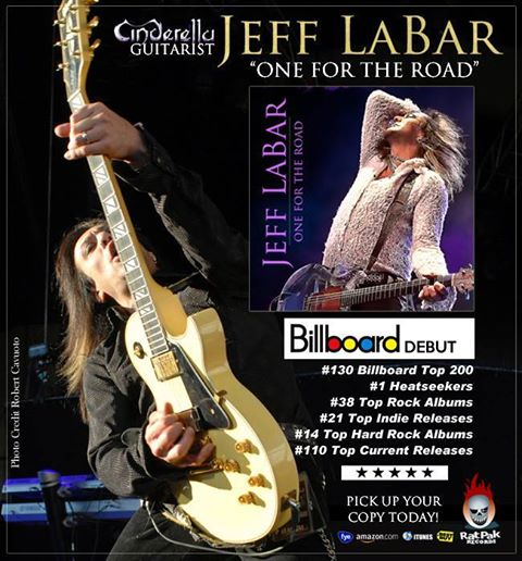 Advertisement for the album details many of LaBar's accomplishments in the music industry.