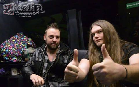 Wovenwar's Shane Blay and ZRock'R 's Marcus Miller sat down for a bit on the tour bus for a chat