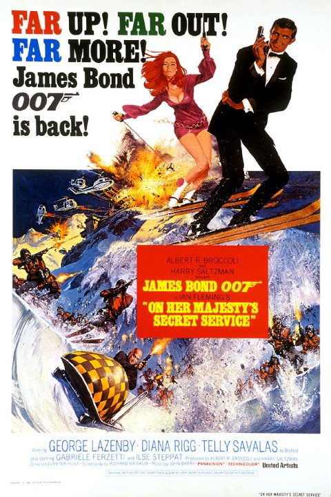 1969's On Her Majesty's Secret Service was Australian actor George Lazenby's first and only appearance as Bond. While his portrayal and performance have long been the subject of mixed reviews, the film itself is beloved by many a fan.