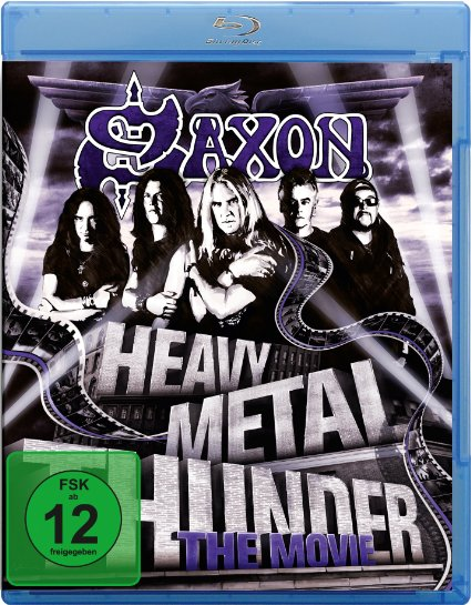 Heavy Metal Thunder is a career-spanning documentary from Saxon, available on a two-disc DVD or single-disc Blu-ray Disc.