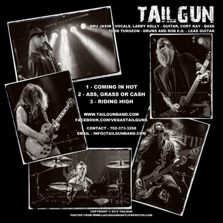 This three-song EP is TailGun's first release.