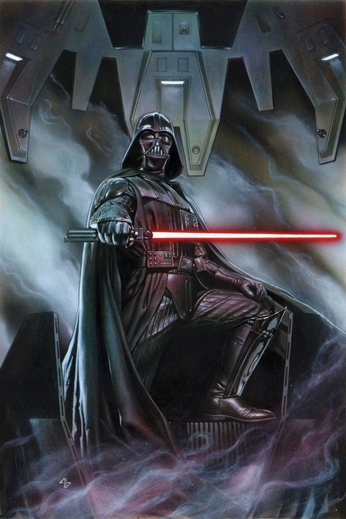 These stories, set between Episodes IV and V, bring back the series' most iconic nemesis - Darth Vader.