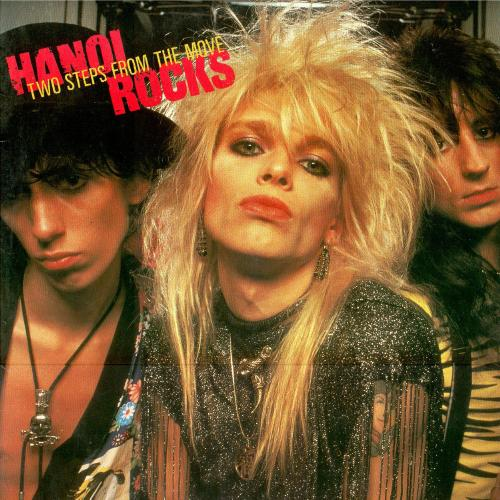 Two Steps from the Move, released originally in 1984, is Hanoi Rocks' most famous album and generally regarded as their best work. Rock Candy reissued the album in 2015.