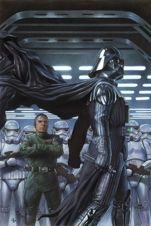 The cover art for Darth Vader 2, continuing the story told in the first book. The series is set to continue further with the release of Darth Vader 3 in March 2015.