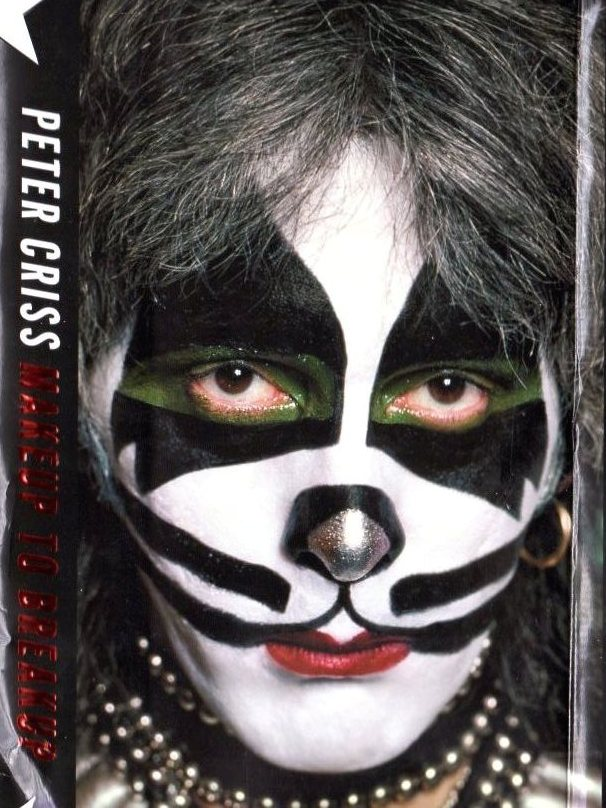 Makeup to Breakup is the autobiography from classic KISS drummer Peter Criss.