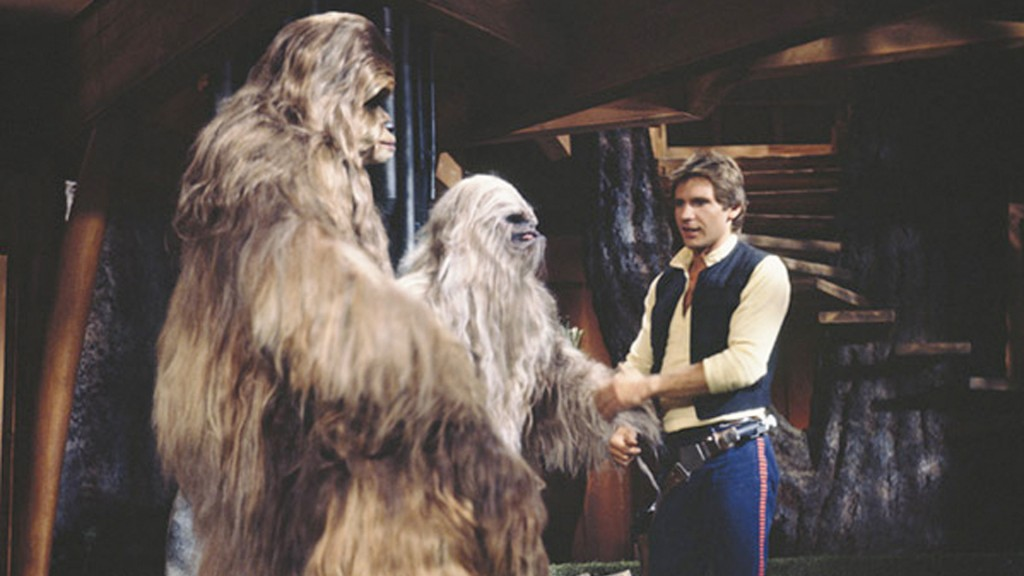 Chewbacca has a family, and getting home to them is a central plot point here.