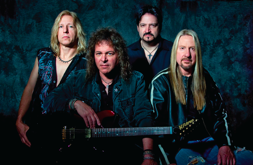 Current lineup of Y&T. From left to right - Brad Lang, Dave Meniketti, Mike Vanderhule, John Nymann