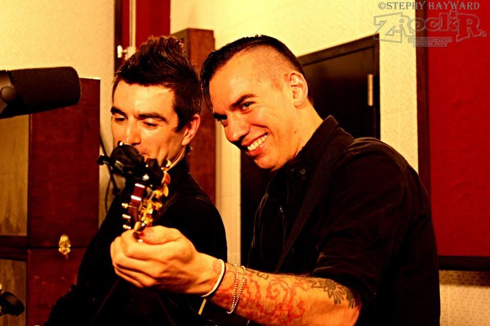 Anti-Flag's Justin Sane and Chris#2.